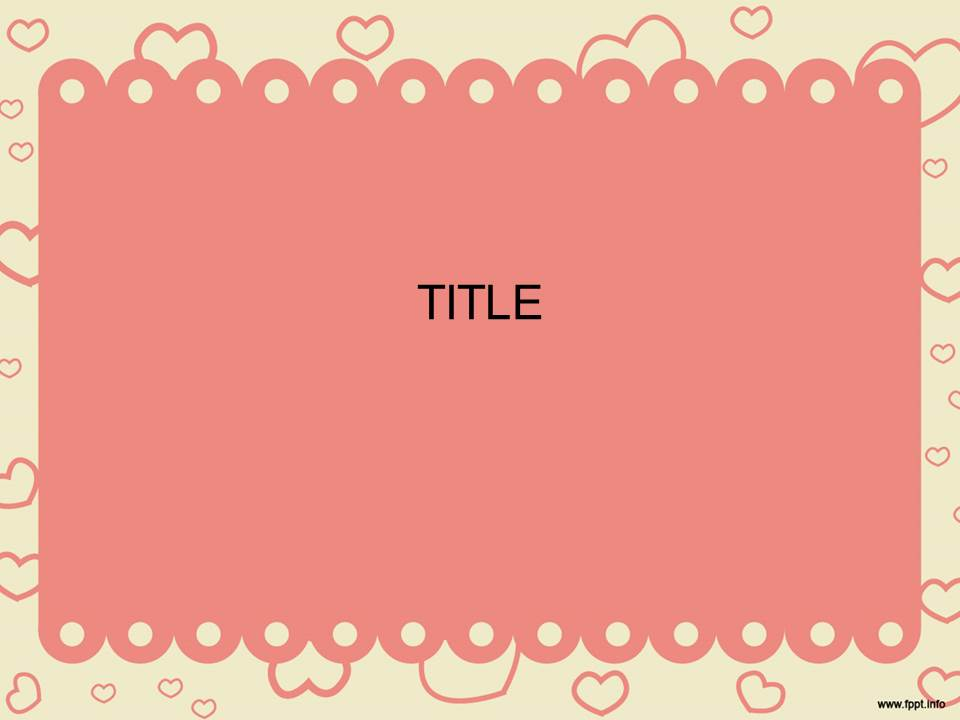 Girly Powerpoint Templates